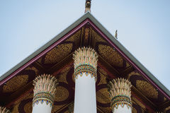 Εσωτερικό σχέδιο εκκλησία Ταϊλανδός Στοκ Εικόνα