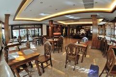 Εσωτερικό σχέδιο εστιατορίων στοκ εικόνα με δικαίωμα ελεύθερης χρήσης