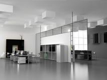εσωτερικό σύγχρονο γραφείο διανυσματική απεικόνιση