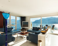 Εσωτερικό, σύγχρονο διαμέρισμα Στοκ Φωτογραφία