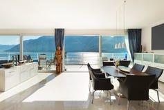 Εσωτερικό, σύγχρονο διαμέρισμα Στοκ Φωτογραφίες