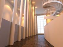 εσωτερικό σύγχρονο κοι&nu Στοκ εικόνα με δικαίωμα ελεύθερης χρήσης