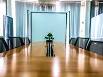 Εσωτερικό της αίθουσας συνεδριάσεων Στοκ εικόνες με δικαίωμα ελεύθερης χρήσης
