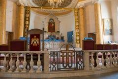 Εσωτερικό της αρμενικής εκκλησίας του ST Catherine κοντά στην οδό Nevsky στη Αγία Πετρούπολη Στοκ φωτογραφία με δικαίωμα ελεύθερης χρήσης