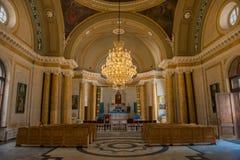Εσωτερικό της αρμενικής εκκλησίας του ST Catherine Στοκ εικόνες με δικαίωμα ελεύθερης χρήσης