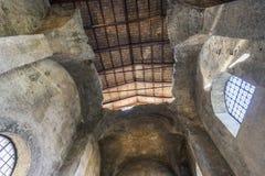 Εσωτερικό της βασιλικής του dei Martiri Angeli ε degli της Σάντα Μαρία Στοκ Εικόνα