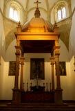 Εσωτερικό της βασιλικής συλλογικής εκκλησίας, Antequera Στοκ φωτογραφία με δικαίωμα ελεύθερης χρήσης