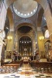 Εσωτερικό της βασιλικής του ST Anthony στην Πάδοβα Στοκ εικόνα με δικαίωμα ελεύθερης χρήσης