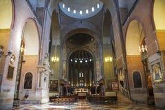 Εσωτερικό της βασιλικής του ST Anthony στην Πάδοβα Στοκ φωτογραφία με δικαίωμα ελεύθερης χρήσης