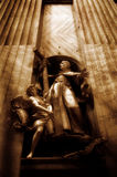 Εσωτερικό της βασιλικής του ST Peter σε Βατικανό Στοκ φωτογραφία με δικαίωμα ελεύθερης χρήσης