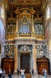 Εσωτερικό της βασιλικής Di SAN Giovanni σε Laterano, Ρώμη Στοκ Εικόνες