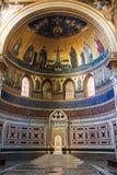 Εσωτερικό της βασιλικής Lateran στην πόλη της Ρώμης Στοκ φωτογραφία με δικαίωμα ελεύθερης χρήσης