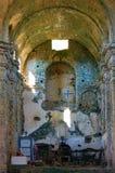 Εσωτερικό της εκκλησίας στην καταστροφή στοκ φωτογραφίες με δικαίωμα ελεύθερης χρήσης