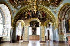 Εσωτερικό της εκκλησίας της Barbara σε Pochaev Lavra Στοκ φωτογραφία με δικαίωμα ελεύθερης χρήσης