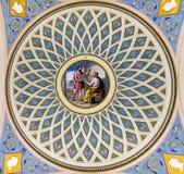 Εσωτερικό της εκκλησίας του Savior στο αίμα στοκ φωτογραφία με δικαίωμα ελεύθερης χρήσης