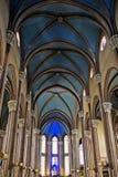 Εσωτερικό της εκκλησίας του ST Anthony της Πάδοβας στη Ιστανμπούλ Στοκ εικόνες με δικαίωμα ελεύθερης χρήσης