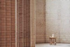 Εσωτερικό της εκκλησίας Grundtvig's Στοκ Εικόνες