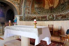 Εσωτερικό της εκκλησίας του ST Stephen ο πρώτος μάρτυρας Στοκ Εικόνες