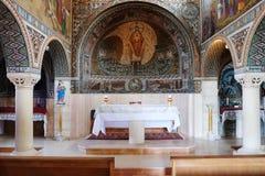 Εσωτερικό της εκκλησίας του ST Stephen ο πρώτος μάρτυρας Στοκ Εικόνα