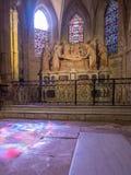 Εσωτερικό της εκκλησίας StTrophime, Arles, Γαλλία Στοκ Εικόνα