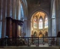 Εσωτερικό της εκκλησίας StTrophime, Arles, Γαλλία Στοκ εικόνα με δικαίωμα ελεύθερης χρήσης