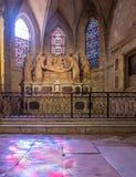 Εσωτερικό της εκκλησίας StTrophime, Arles, Γαλλία Στοκ φωτογραφίες με δικαίωμα ελεύθερης χρήσης