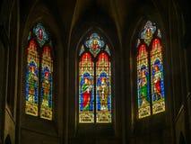 Εσωτερικό της εκκλησίας StTrophime, Arles, Γαλλία Στοκ εικόνες με δικαίωμα ελεύθερης χρήσης