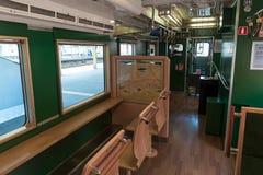 Εσωτερικό της επίσκεψης του τραίνου Belles montagnes et mer Στοκ Εικόνες
