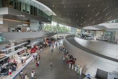Εσωτερικό της ΜΠΟΡΝΤΟΥΡΑΣ της BMW Στοκ Εικόνες