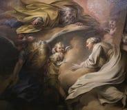 Εσωτερικό της EN λ ` ile εκκλησίας του Saint-Louis, Παρίσι, Γαλλία Στοκ φωτογραφία με δικαίωμα ελεύθερης χρήσης