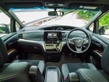 Εσωτερικό της Toyota Previa 2016 Στοκ Εικόνες