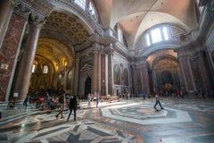Εσωτερικό του Αγίου Peter Cathedral σε Βατικανό Στοκ Εικόνα