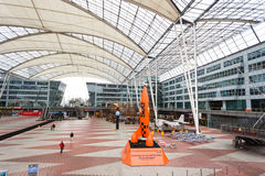 Εσωτερικό του αερολιμένα του Μόναχου Στοκ εικόνες με δικαίωμα ελεύθερης χρήσης