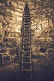 Εσωτερικό του αρχαίου μοναστηριού Khor Virap Στοκ Φωτογραφίες