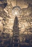 Εσωτερικό του αρχαίου μοναστηριού Khor Virap Στοκ Εικόνα