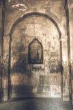 Εσωτερικό του αρχαίου μοναστηριού Khor Virap Στοκ φωτογραφία με δικαίωμα ελεύθερης χρήσης