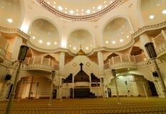 Εσωτερικό του βασιλικού πόλης μουσουλμανικού τεμένους α Klang Κ ένα Masjid Bandar Diraja Klang στοκ φωτογραφία με δικαίωμα ελεύθερης χρήσης