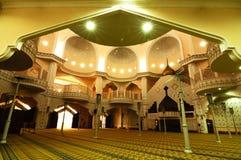 Εσωτερικό του βασιλικού πόλης μουσουλμανικού τεμένους α Klang Κ ένα Masjid Bandar Diraja Klang στοκ εικόνες με δικαίωμα ελεύθερης χρήσης