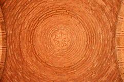 Εσωτερικό του θόλου τούβλου Στοκ Εικόνες