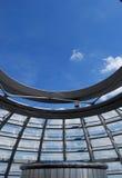 Εσωτερικό του θόλου Reichstag στο Βερολίνο Στοκ εικόνες με δικαίωμα ελεύθερης χρήσης
