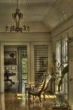 Εσωτερικό του ιστορικού σπιτιού Στοκ Εικόνες