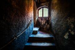 Εσωτερικό του κάστρου στοκ εικόνα