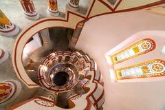 Εσωτερικό του κάστρου Bory VAR σε Szekesfehervar, Ουγγαρία στοκ εικόνες
