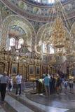 Εσωτερικό του καθεδρικού ναού του Άγιου Βασίλη στην πόλη Evpatoria, χρώμιο στοκ φωτογραφίες με δικαίωμα ελεύθερης χρήσης