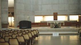 Εσωτερικό του καθεδρικού ναού του Clifton απόθεμα βίντεο