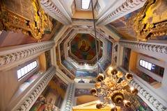 Εσωτερικό του καθεδρικού ναού βασιλικών του ST στη Μόσχα Στοκ Εικόνες