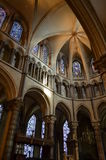 Εσωτερικό του καθεδρικού ναού του Καντέρμπουρυ. Στοκ Φωτογραφίες