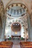Εσωτερικό του καθεδρικού ναού του Μιλάνου Duomo Στοκ Φωτογραφία