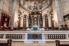Εσωτερικό του καθεδρικού ναού του Saint-Paul Στοκ φωτογραφία με δικαίωμα ελεύθερης χρήσης