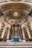 Εσωτερικό του καθεδρικού ναού του Saint-Paul Στοκ φωτογραφίες με δικαίωμα ελεύθερης χρήσης